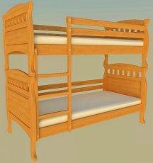 Двухъярусная кровать ТИС Трансформер 5 - 80x190см
