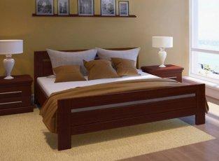 Дубовая кровать Глория 90*200
