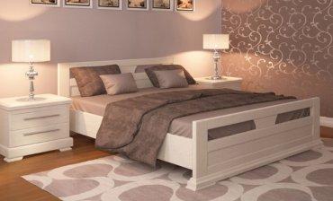 Дубовая кровать Модерн 140*200