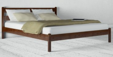 Кровать Лика прямая (без изножья) - 140х190-200см