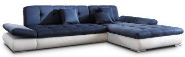 Кожаный угловой диван Квест