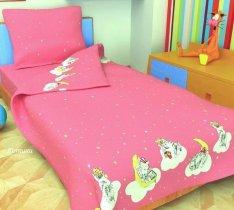 Детский комплект постельного белья Котики