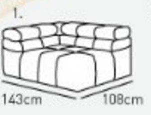 Модуль 1,2 к диван у Мегамакс
