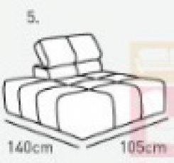 Модуль 5,6 к диван у Мегамакс