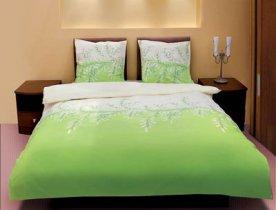 Полуторный комплект постельного белья Зеленая верба -588