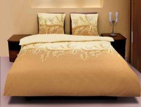 Полуторный комплект постельного белья Коричневая верба -591