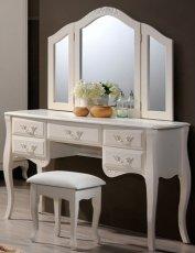 Будуарный стол + зеркало + пуф Богемия