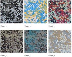 Ткань ItalVelutti Пиксель (Pixel) ширина 140см