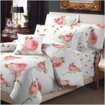 Полуторный комплект постельного белья Ампельная роза -718