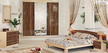 Спальня Хай-Тек (СП-496) Комфорт Мебель