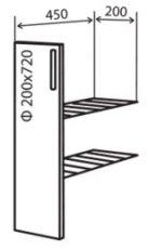 Модуль №1+ н 200-820 низ кухни карго «Максима»