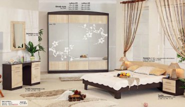 Спальня Хай-Тек (СП-499) Комфорт Мебель