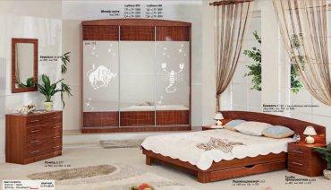 Спальня Хай-Тек (СП-503) Комфорт Мебель