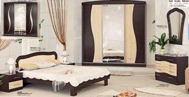 Спальня Волна (СП-506) Комфорт Мебель