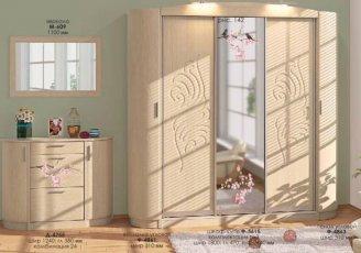 Прихожая Хай-тек (ВТ-3977) Комфорт Мебель