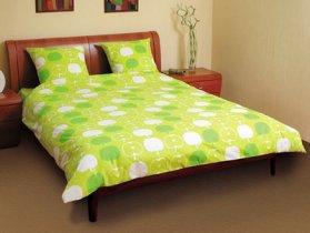 Евро комплект постельного белья Яблоко -552