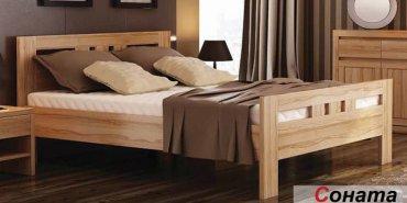 Двухспальная кровать Венгер Соната - 200x160см