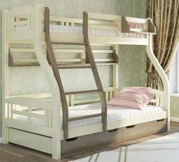 Двухъярусная кровать Венгер Светлана - 200x80см и 200 на 120см