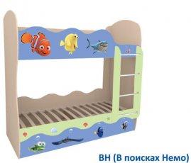 Двухъярусная кровать Волна Мебель-сич