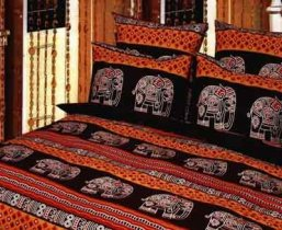 Двухспальный комплект постельного белья Слон -647