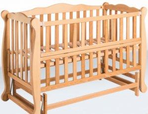 Детская кровать-маятник «Натали» с откидной боковиной