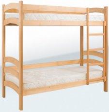 Кровать двухъярусная подростковая Гойдалка