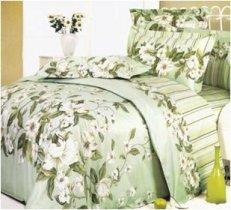 Двухспальный комплект постельного белья Жасмин -735