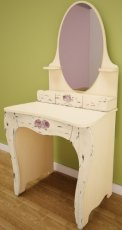 Стол туалетный с зеркалом СТ 4-3 Прованс в стиле Шебби Шик