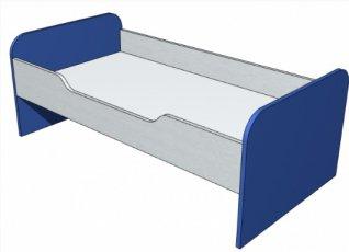 Кровать с бортиками ДУ-К 01 Детcад