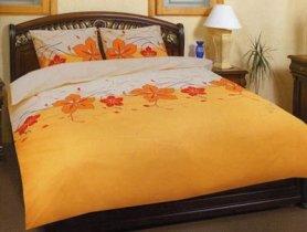 Семейный комплект постельного белья Пятилистник -581