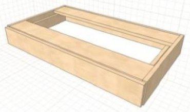 Ящик для стола  Kitty