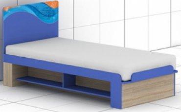 Кровать L-28/29 Индиго