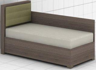 Кровать c быльцем L-02/04 Колледж