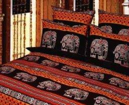 Семейный комплект постельного белья Слон -647
