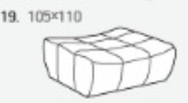 Модуль 19 к кожаному дивану Бостон