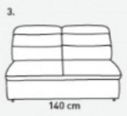 Модуль 3 к модульному диван у Оливер