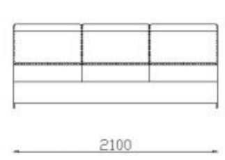 Модуль двойной 2Р140дл к дивану Беллуно