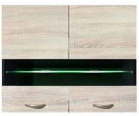 Шкаф навесной G2W-80/72 с подсветкой Юнона