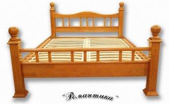 Кровать Романтика - ширина 140см