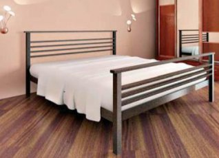 Кровать Lex 2 с высокой спинкой у ног