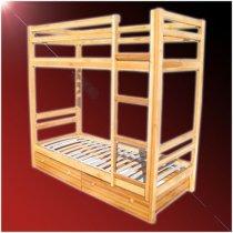 Двухъярусная кровать - длина 190xширина 90см