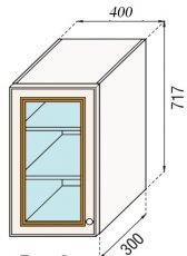 Модуль В 40 Ск верх кухня Парма