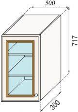 Модуль В 50Ск верх кухня Парма