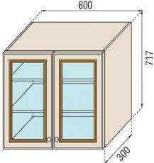 Модуль В 60Ск верх кухня Парма