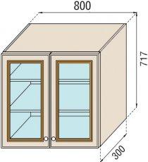 Модуль В 80Ск верх кухня Парма