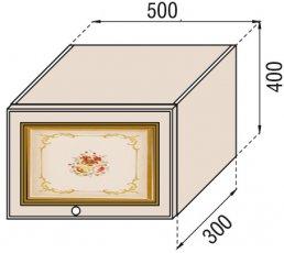 Модуль 50 окап верх кухня Парма