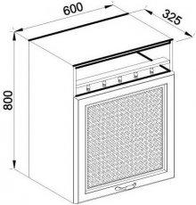 Модуль В 60 верх кухня Роксана