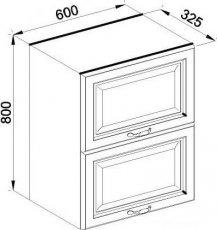Модуль В 60Б верх кухня Роксана