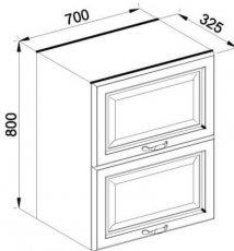 Модуль В 70Б верх кухня Роксана