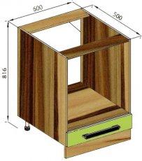 Модуль Н 60Пл низ кухня Зара